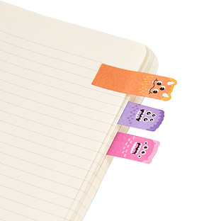 Rainbow Monsters Note Pals Page Markers