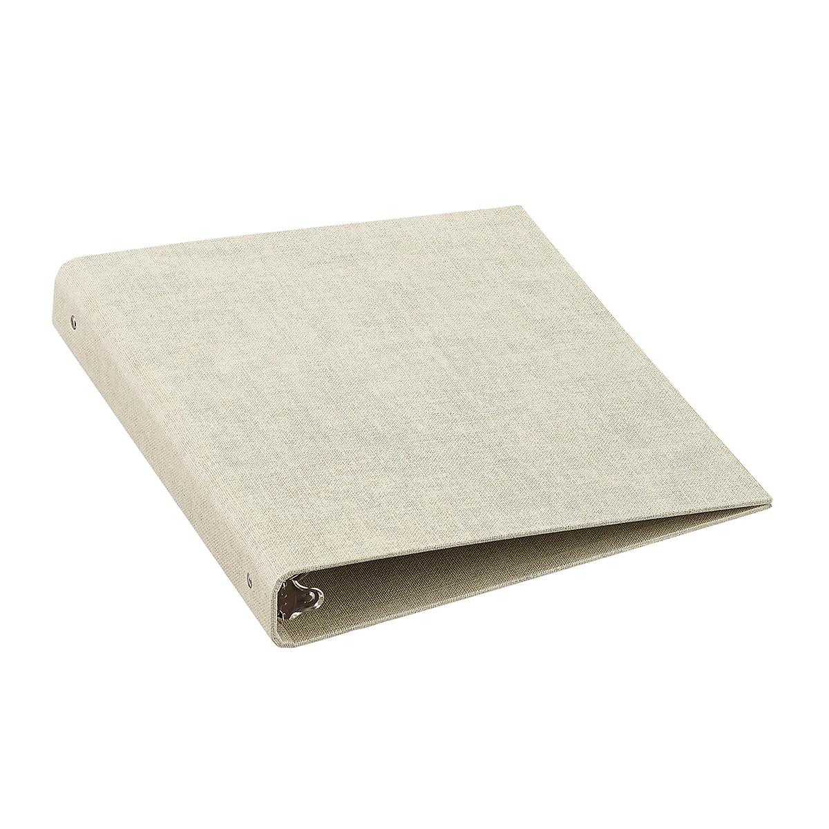 "Bigso Linen Marten 1"" Three-Ring Binder"