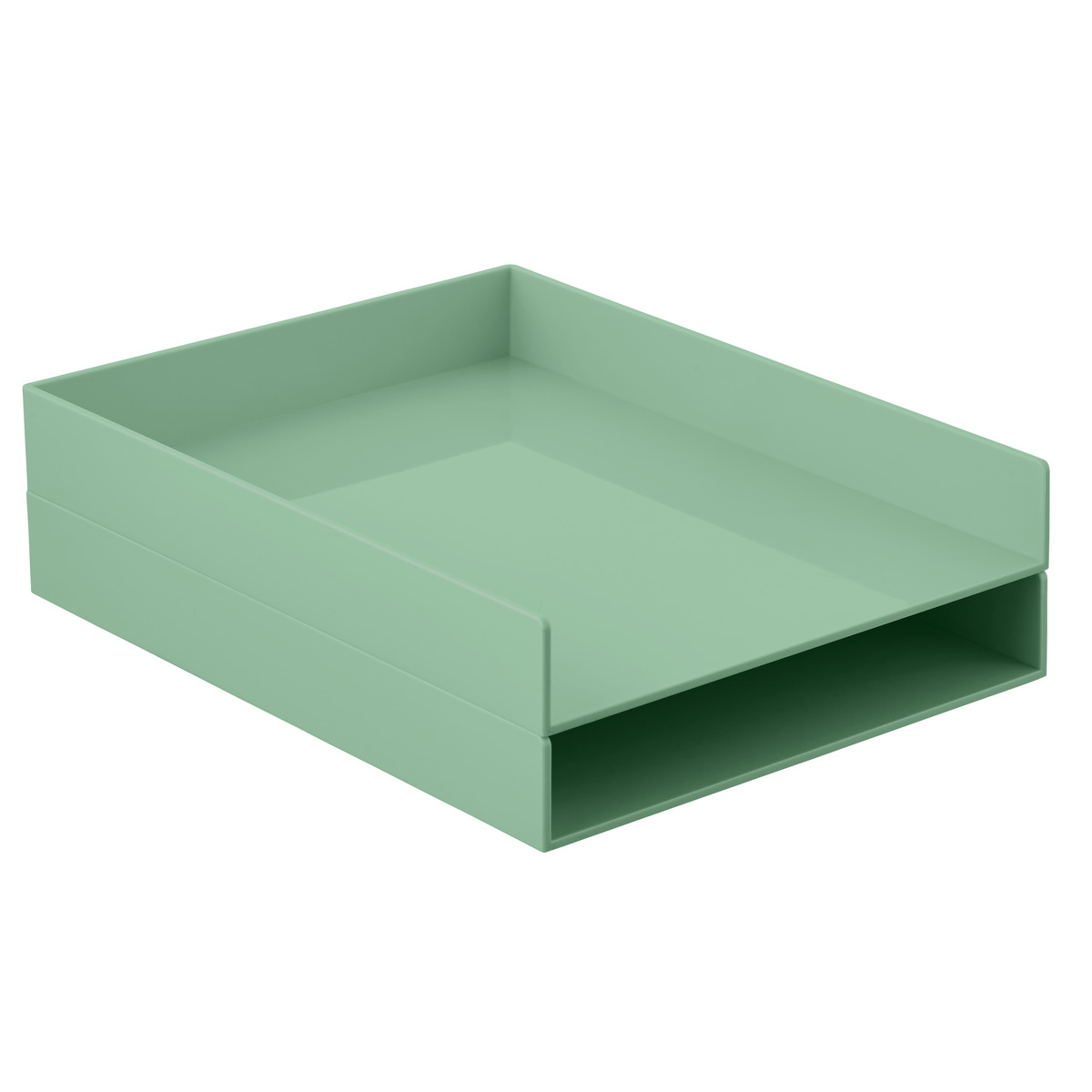 Sage Poppin Stackable Letter Tray