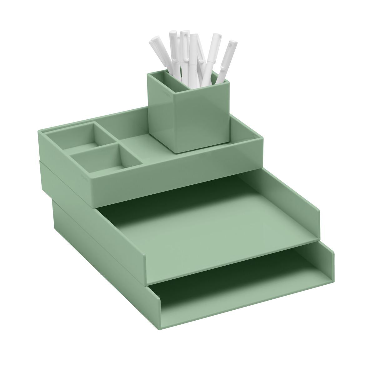 Sage Poppin Letter Tray Starter Kit