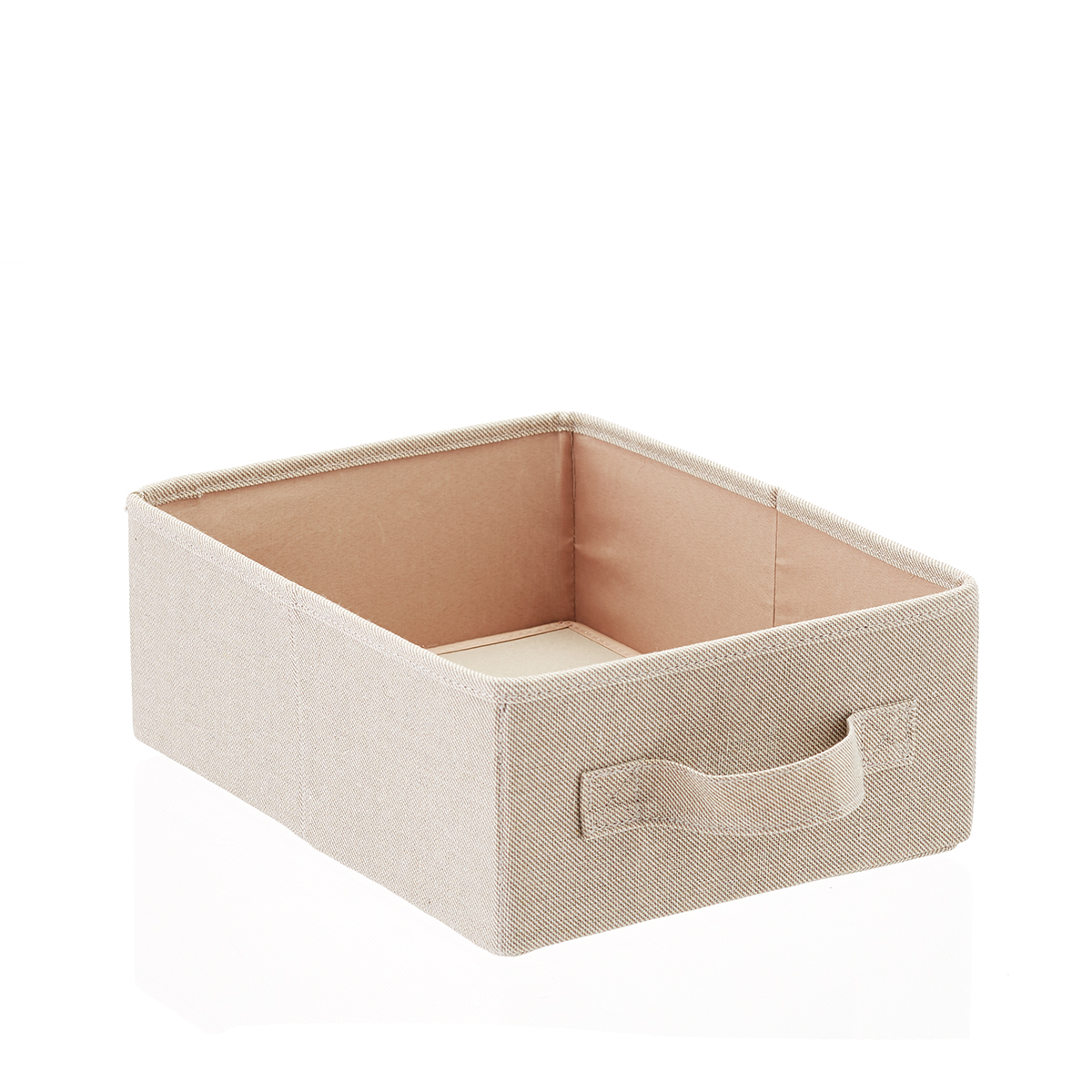 Taupe 10-Compartment Hanging Shoe Organizer Drawer
