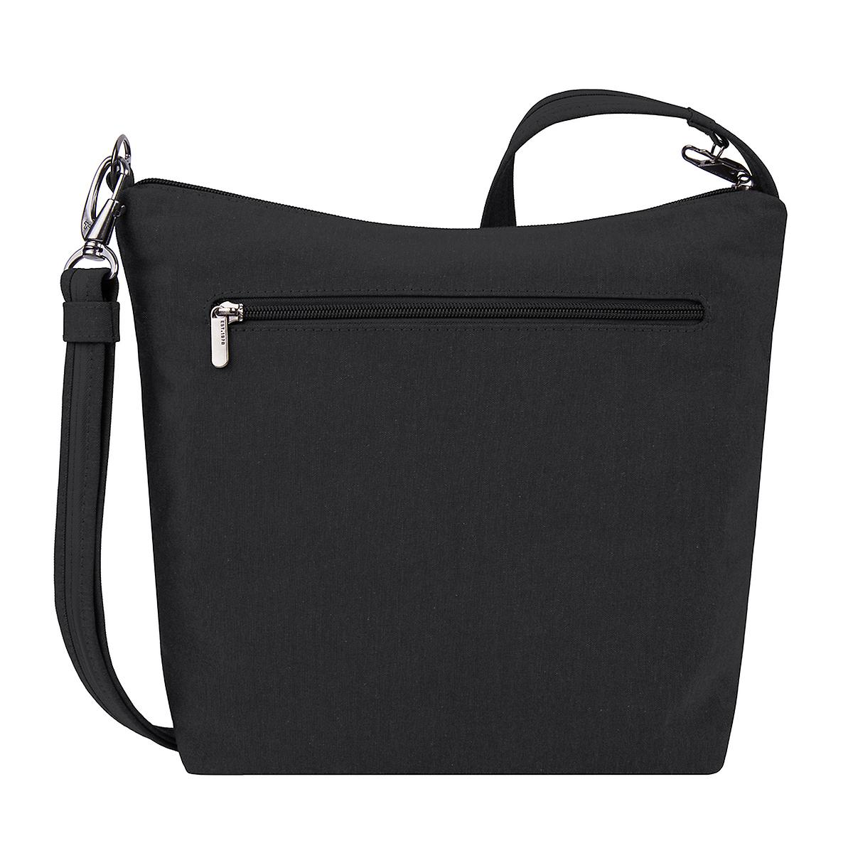 Travelon Black Anti-Theft Metro Crossbody Bag