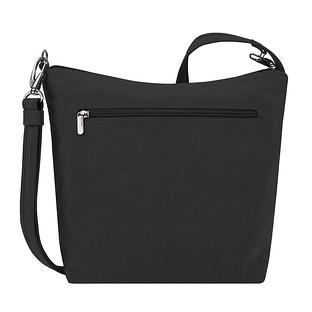 Travelon Black Anti-Theft Metro Crossbody Bag