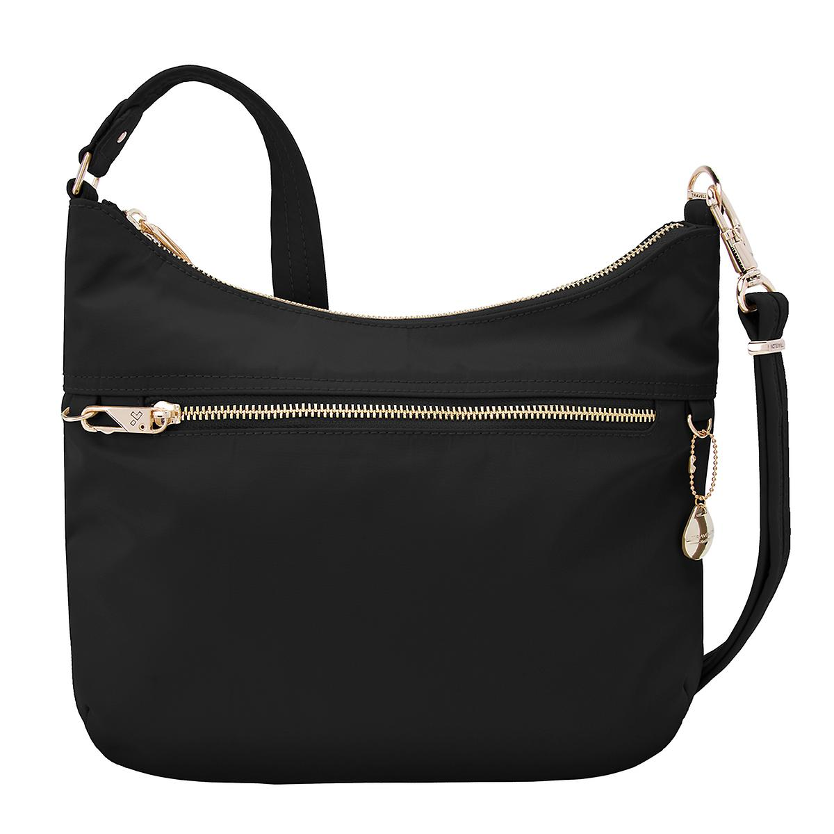 Travelon Anti-Theft Black Hobo Bag