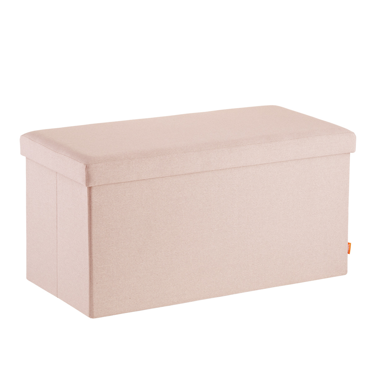 Poppin Blush Box Bench