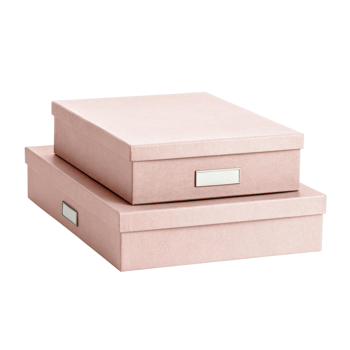 Bigso Blush Stockholm Office Storage Boxes