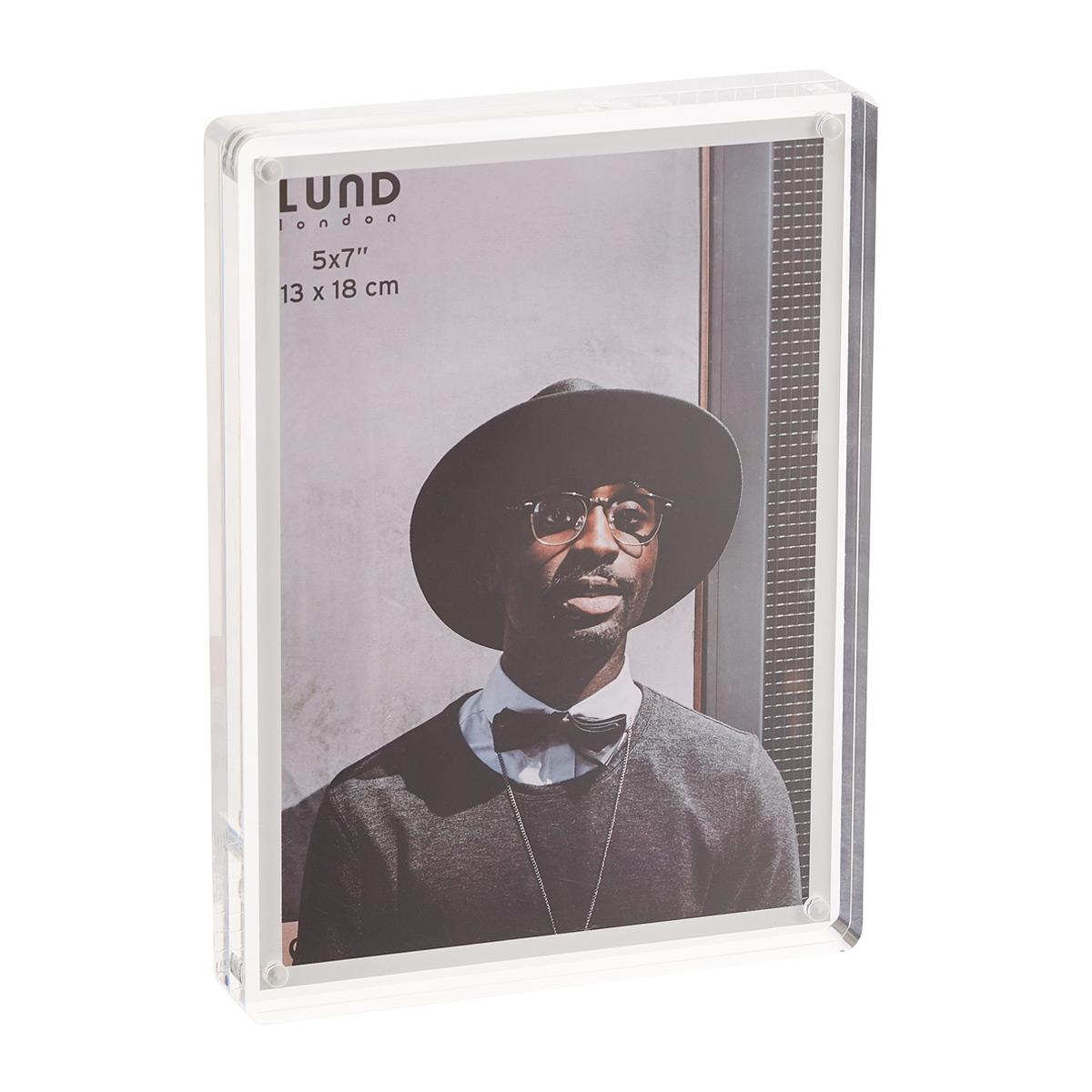 Lund London 5 x 7 Premium Acrylic Photo Frame
