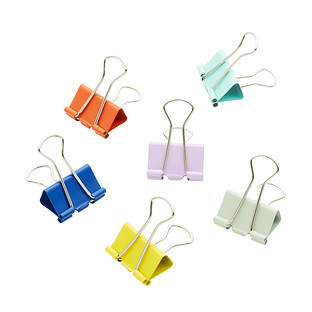 Three by Three 1 Assorted Binder Clips