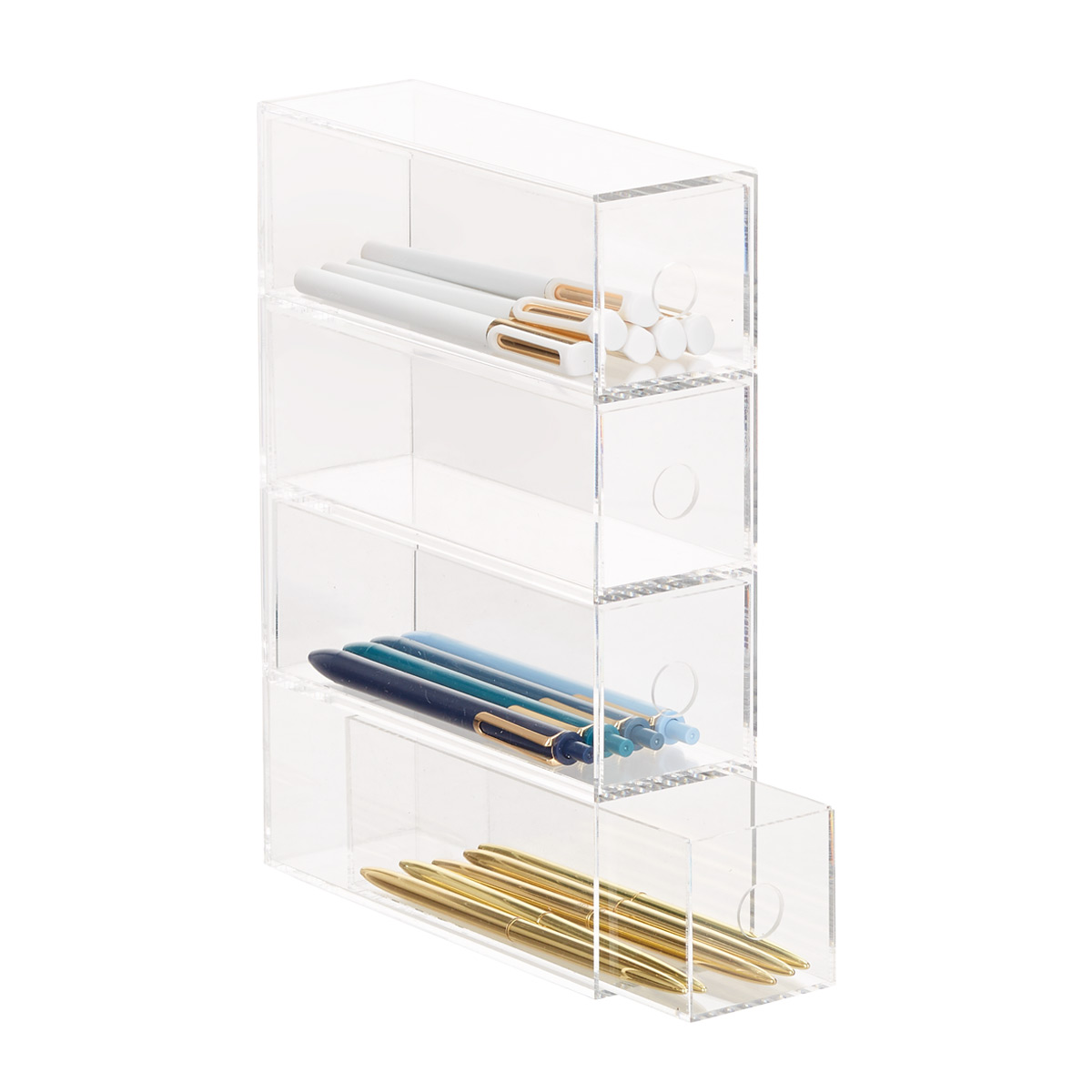 4-Drawer Pen Accessory Organizer