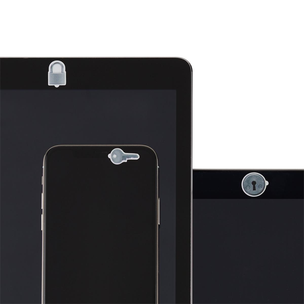 SpyBlocker Grey Webcam Covers