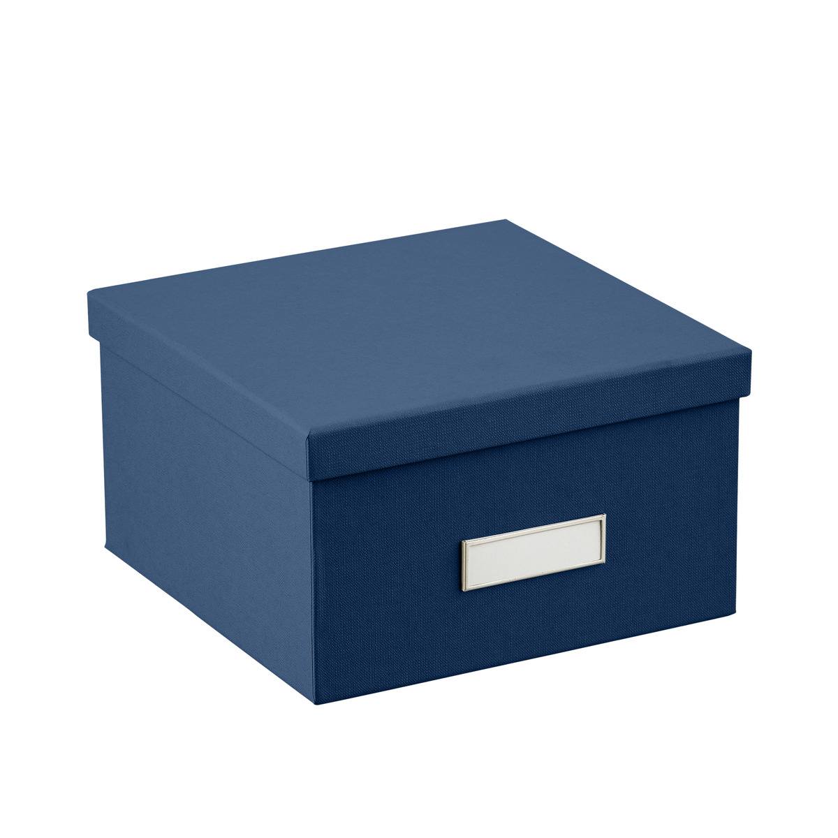 Bigso Navy Stockholm Photo Storage Box