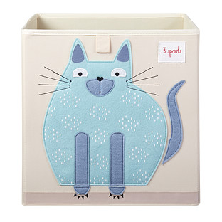 3 Sprouts Cat Toy Storage Cube