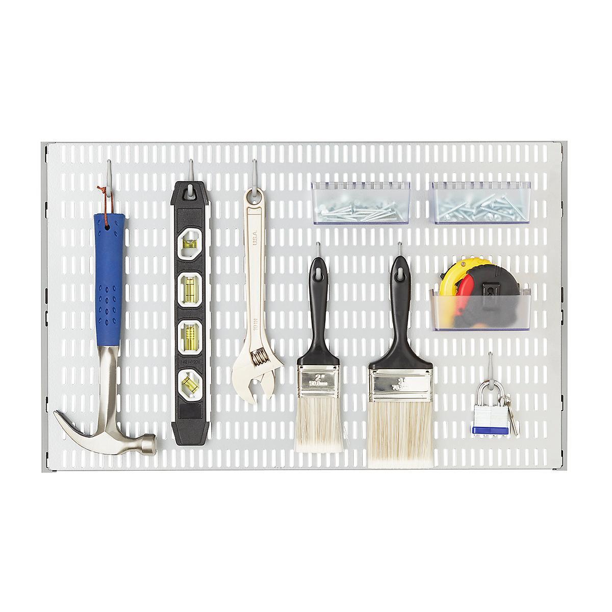 Platinum Elfa Utility Pegboard Starter Kit