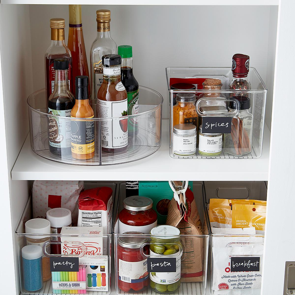 Interdesign Linus Pantry Bins The Container Store