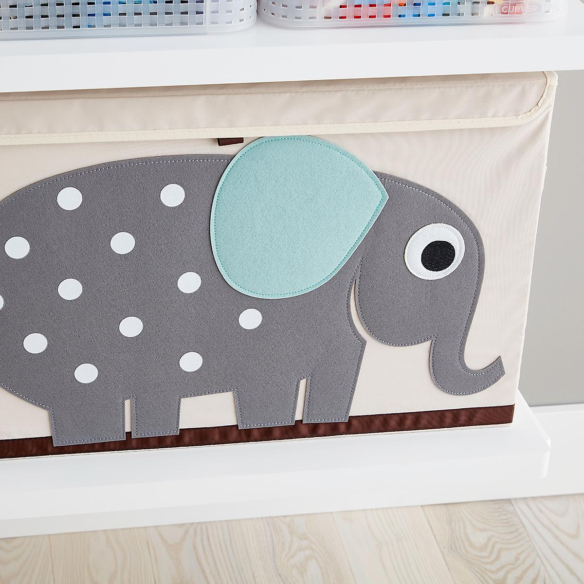 Elephant Toy Chest by 3 Sprouts