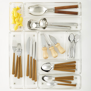 InterDesign Linus Shallow Drawer Organizers