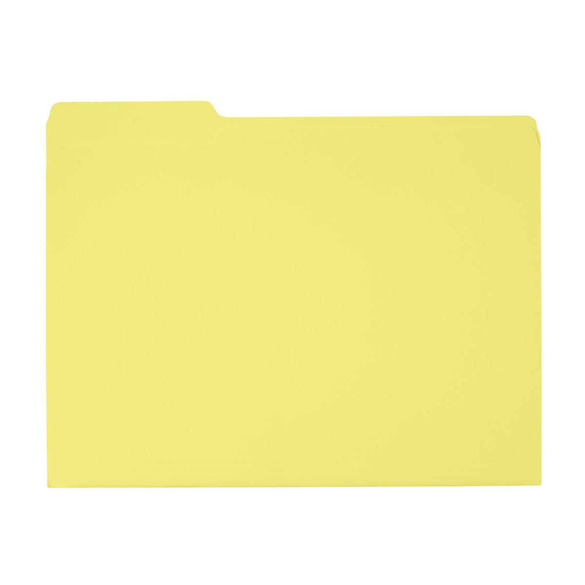 Limoncello Letter-Size Interior File Folders