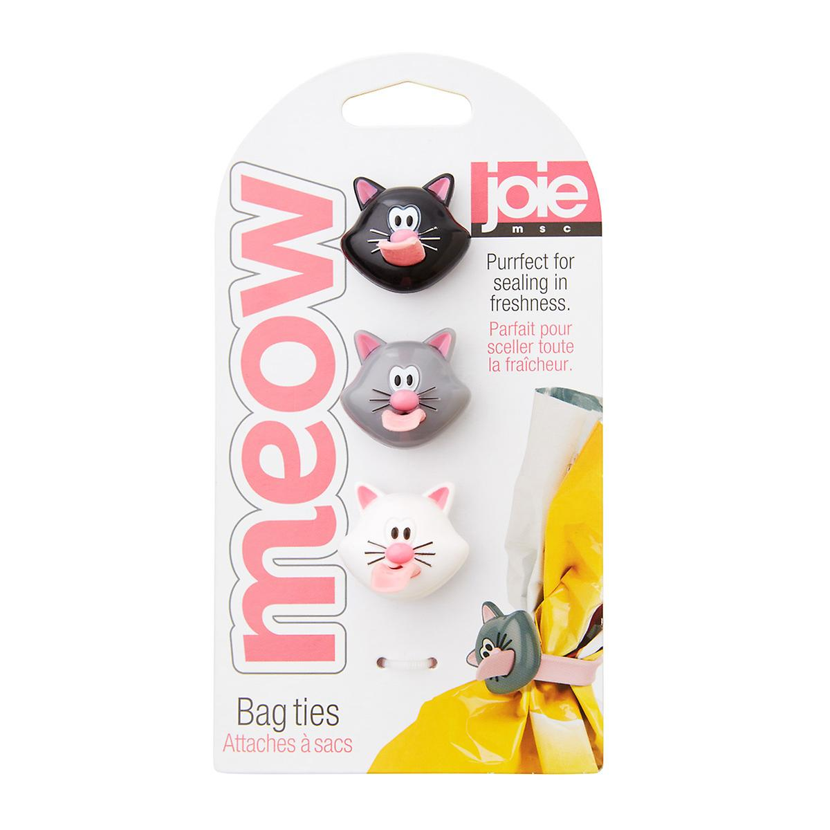 Meow Cat Bag Ties