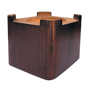 Java Solid Wood Bed Risers Set of 4