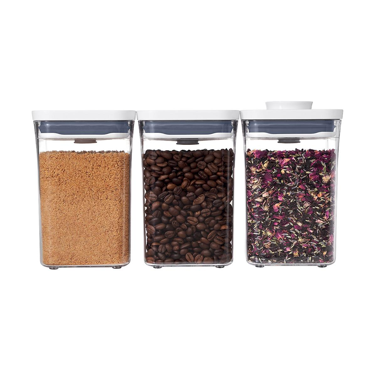 OXO Good Grips 3-Piece POP Canister Set
