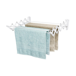 Polder Wall-Mounted Accordion Drying Rack