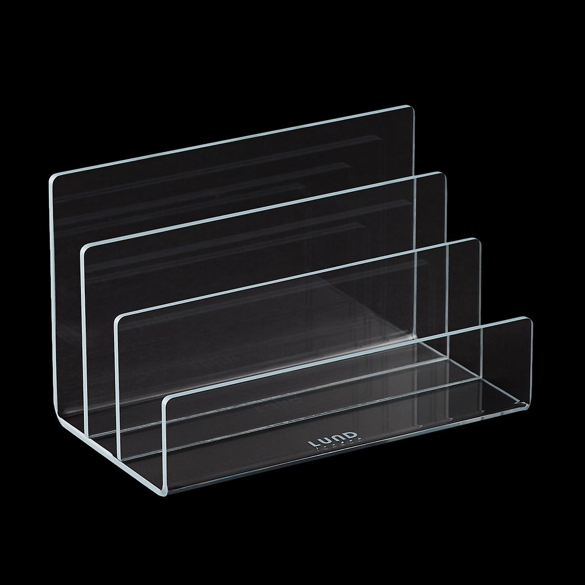 Grey Trim Mod Acrylic Mail Holder