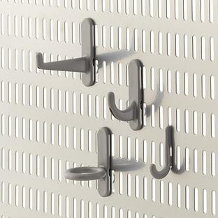 Platinum Elfa Utility Board Hook Multi-Pack