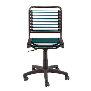 Dark Green Bungee Office Chair