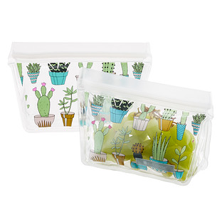 Full Circle Cactus Party Reusable Snack Bags