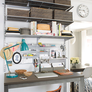 Platinum Elfa Office Shelving