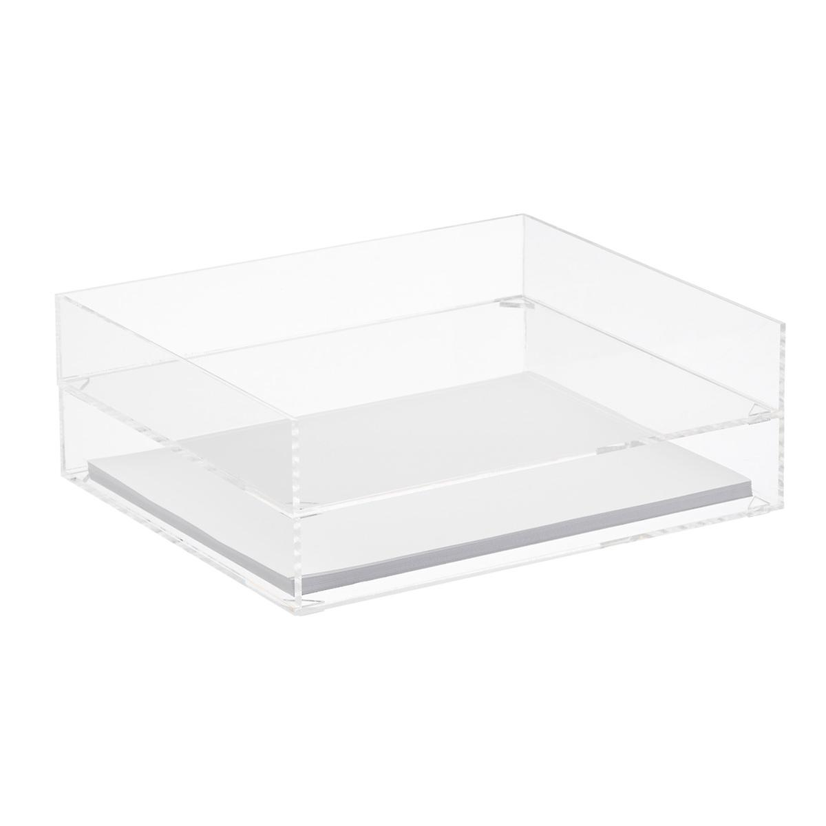 Premium Acrylic Stacking Letter Tray