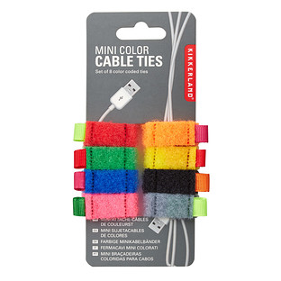 Mini Hook & Loop Cable Ties
