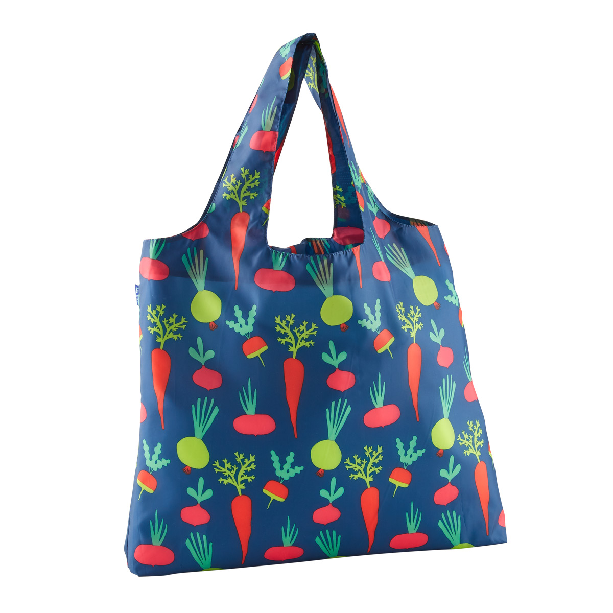 Root Veggies Blu Bag Reusable Tote