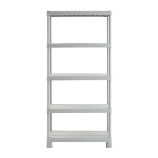 Grey Tribac 5-Shelf Unit