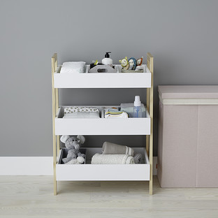 Multipurpose 3-Tier Shelf Nursery Storage Starter Kit