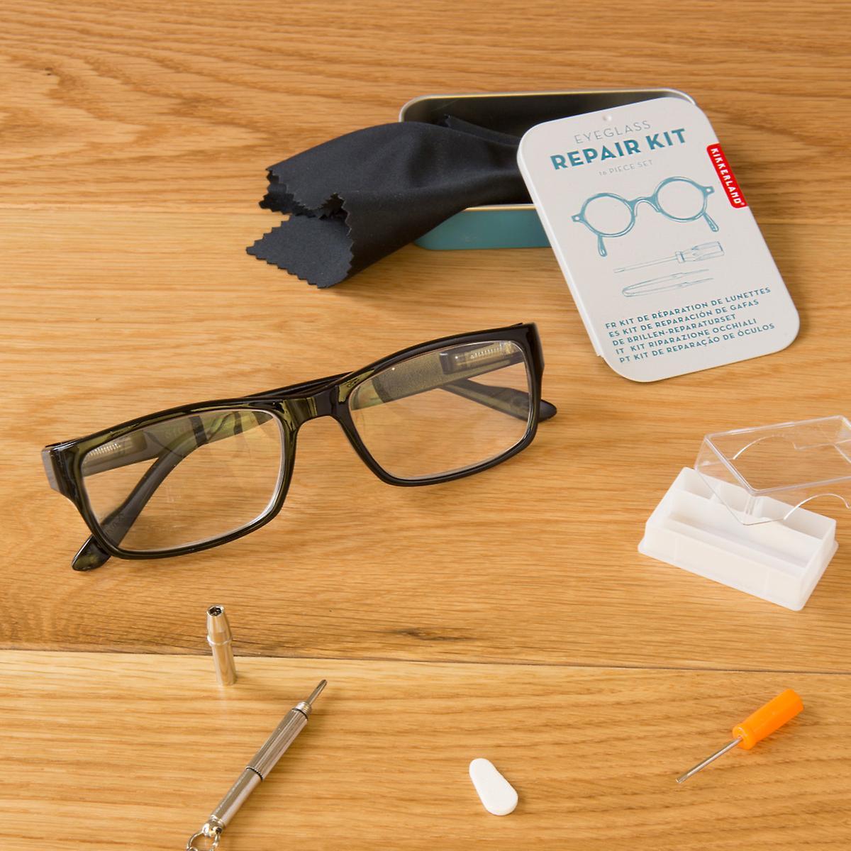 Blue Eyeglass Repair Kit