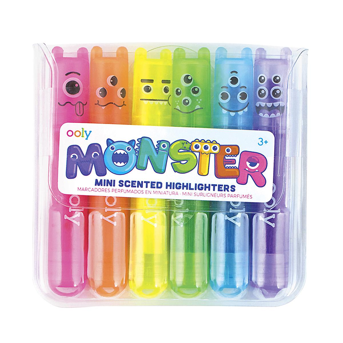 Ooly Monster Mini Scented Highlighters