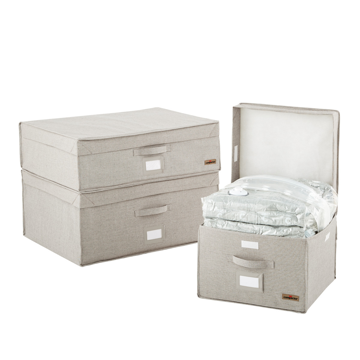 Oxford Grey Compactor Storage Boxes