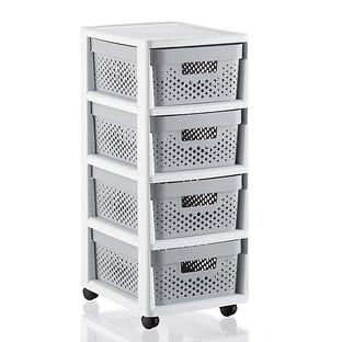 Infinity 4-Drawer Rolling Cart