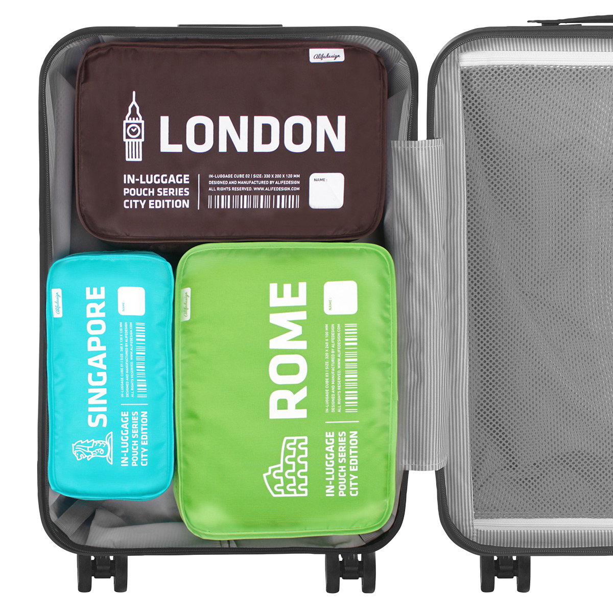 City Packing Cube Organizers Set