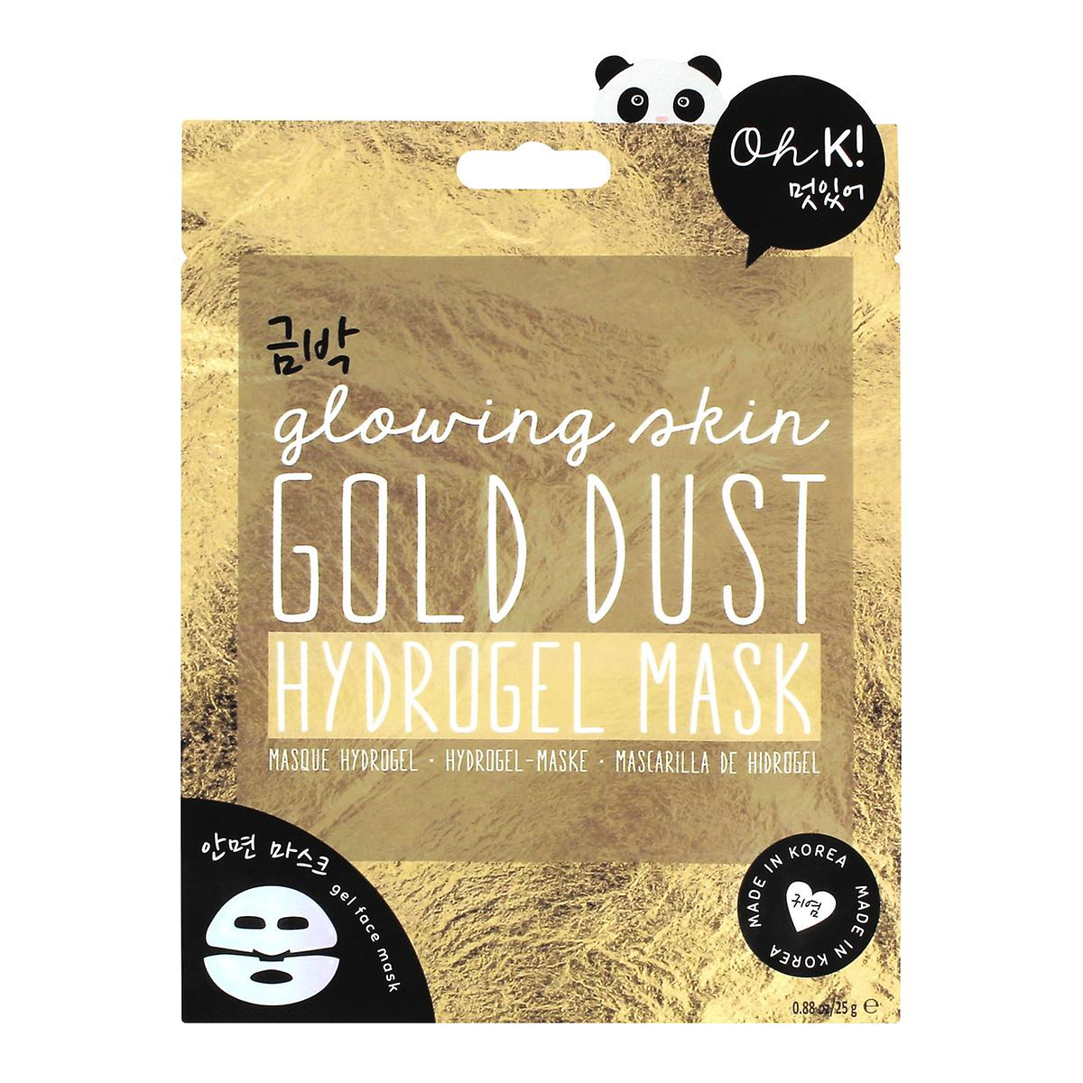 Oh K! Hydrogel Gold Dust Sheet Face Mask