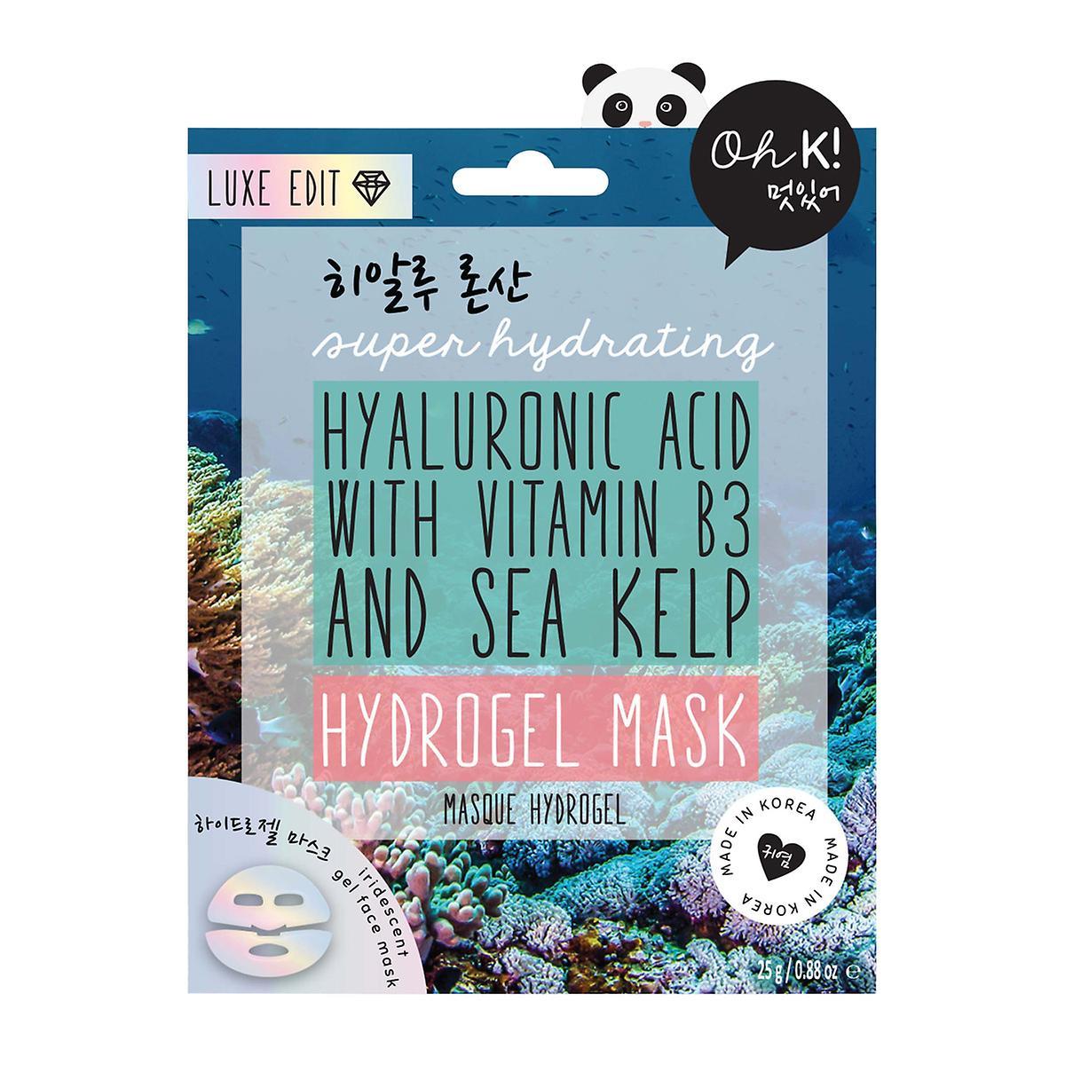 Oh K! Hydrogel Hyaluronic Acid Sheet Face Mask