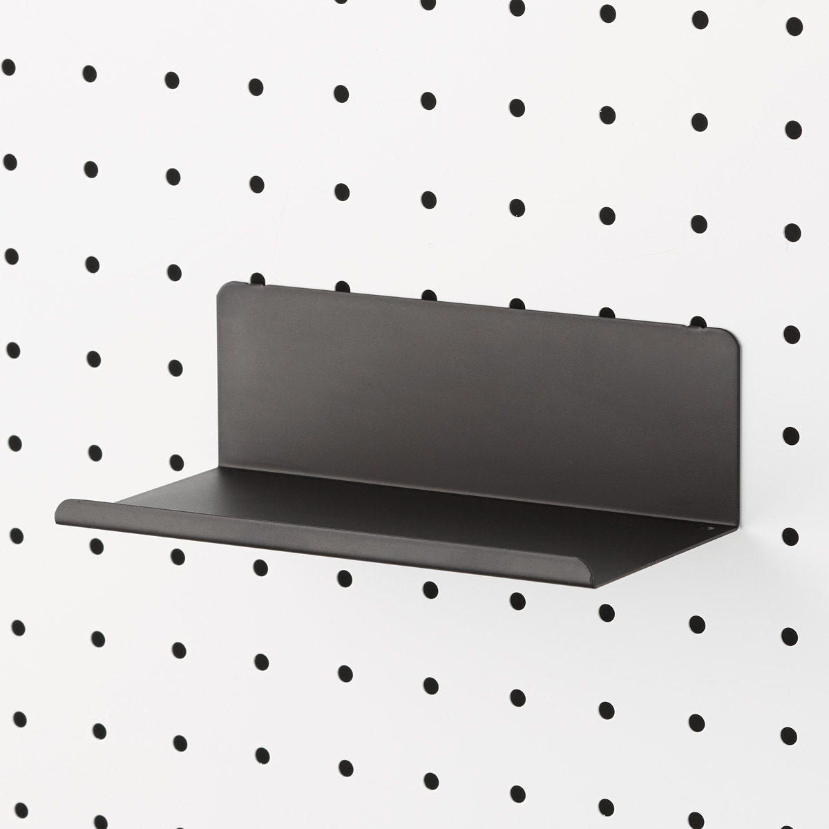 Black Bello Pegboard Shelf