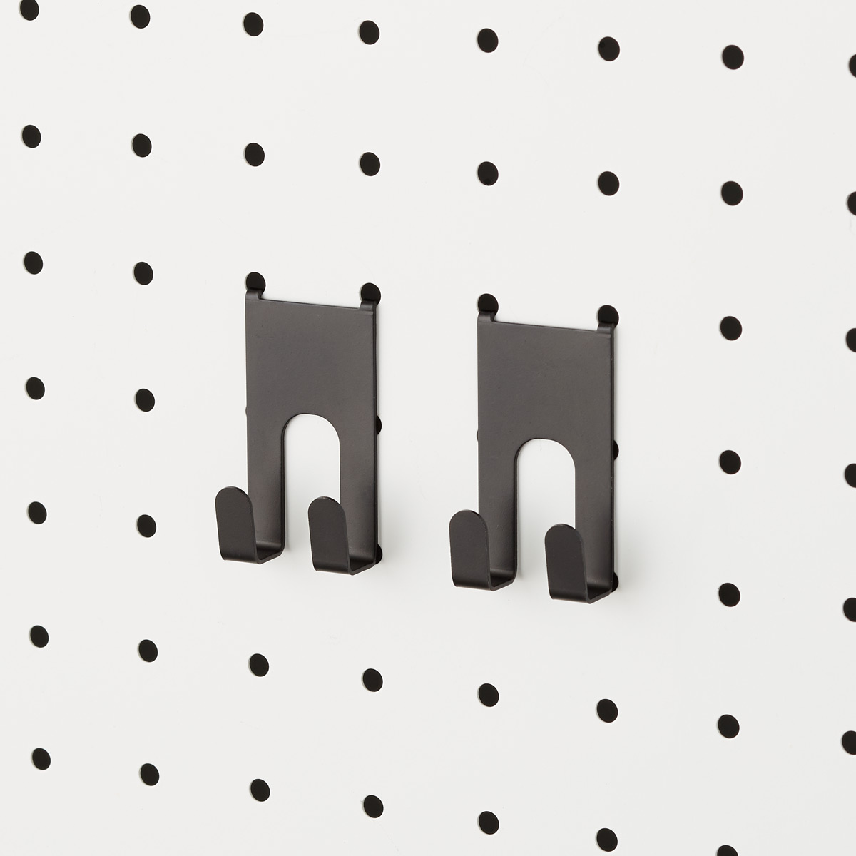 Black Bello Peg Board Hooks