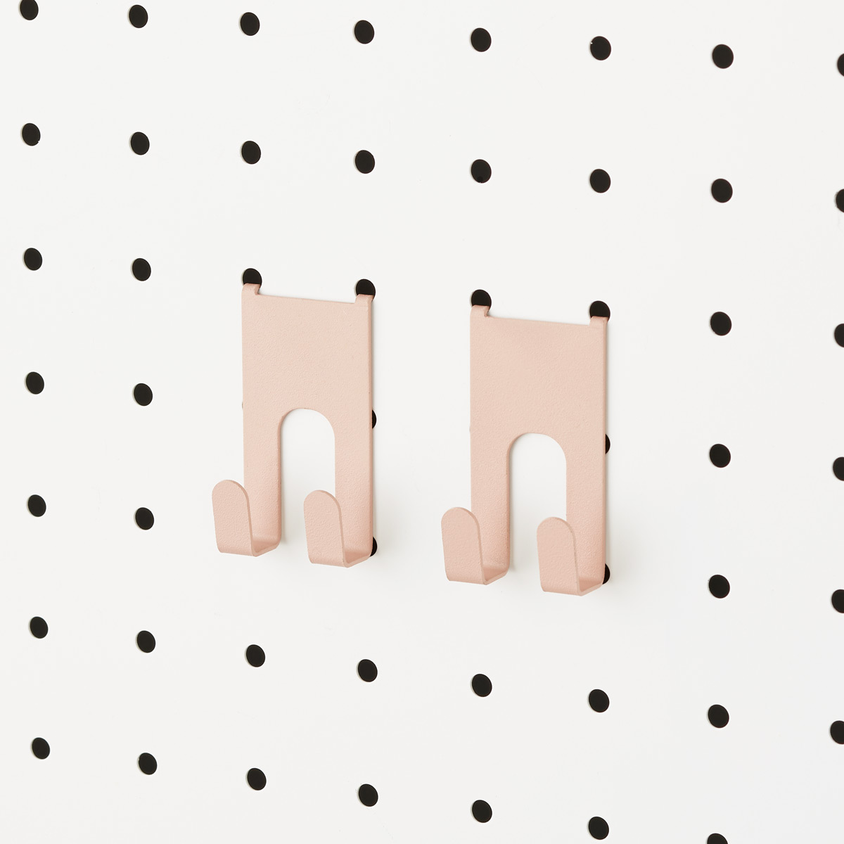 Blush Bello Peg Board Hooks