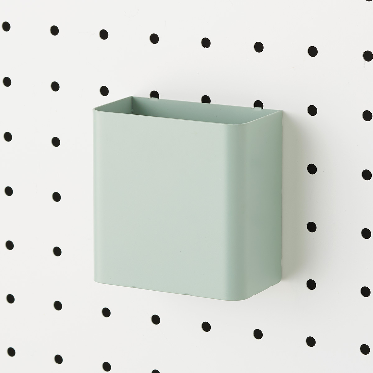 Sage Green Bello Pegboard Pen Cup