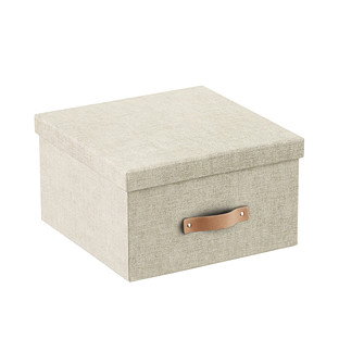 Bigso Linen Marten Photo Storage Box