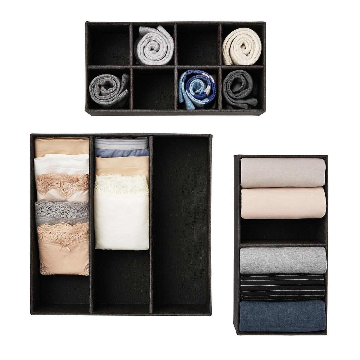 Black Cambridge Drawer Organizers