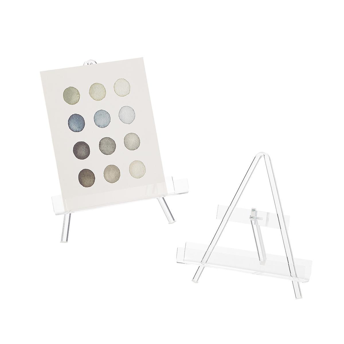 Acrylic Crossbar Display Easel