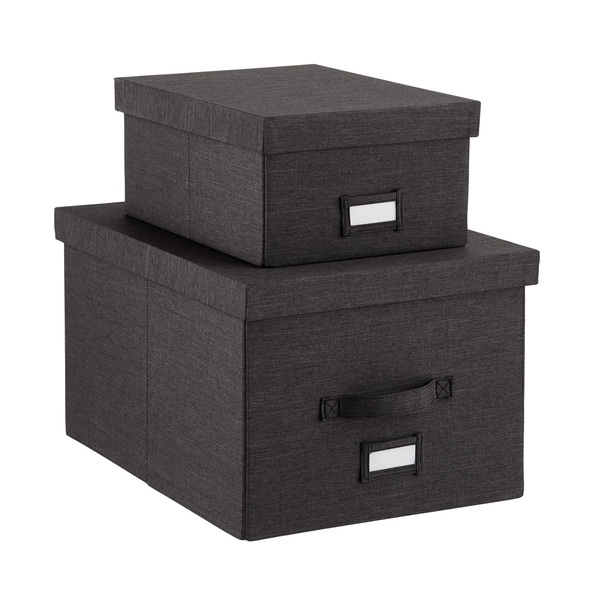 Black Cambridge Storage Boxes
